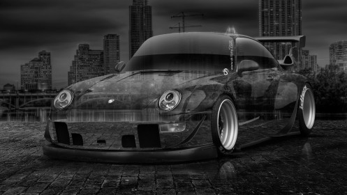 Porsche-911-Tuning-Crystal-City-Car-2014-Photoshop-HD-Wallpapers-design-by-Tony-Kokhan-[www.el-tony.com]