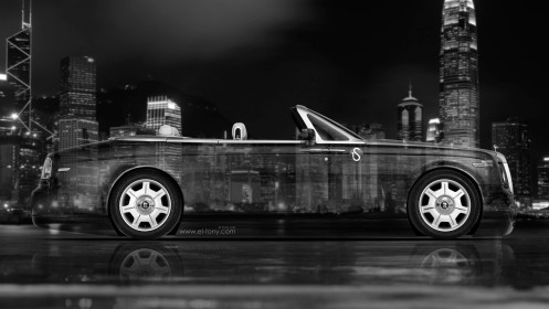 Rolls-Royce-Phantom-Coupe-Side-Crystal-City-Car-2014-Photoshop-HD-Wallpapers-design-by-Tony-Kokhan-[www.el-tony.com]