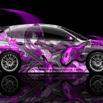 Subaru Impreza WRX STI Side Anime Aerography Car 2014