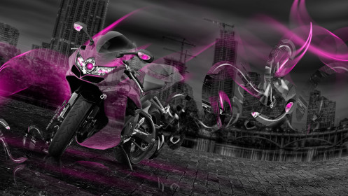 Suzuki-GSX-R750-Fantasy-Moto-Crystal-City-Plastic-Effects-Bike-2014-Pink-Neon-HD-Wallpapers-design-by-Tony-Kokhan-[www.el-tony.com]