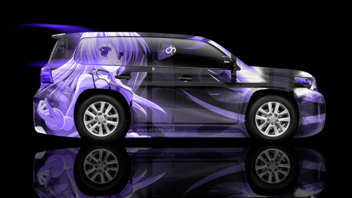 Toyota-Land-Cruiser-200-Side-Anime-Aerography-Car-2014-Violet-Colors-HD-Wallpapers-design-by-Tony-Kokhan-[www.el-tony.com]