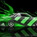 Toyota Mark2 JZX90 Adidas Predator Live Colors Car 2014