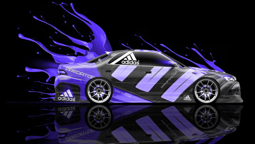 Toyota-Mark-2-JZX90-JDM-Side-Adidas-Predator-Violet-Live-Colors-Car-2014-HD-Wallpapers-design-by-Tony-Kokhan-[www.el-tony.com]