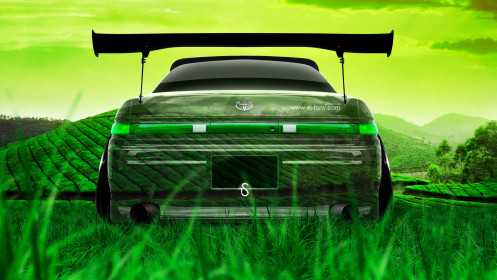 Toyota-Mark2-JZX90-JDM-Back-Crystal-Nature-Car-2014-HD-Wallpapers-design-by-Tony-Kokhan-[www.el-tony.com]