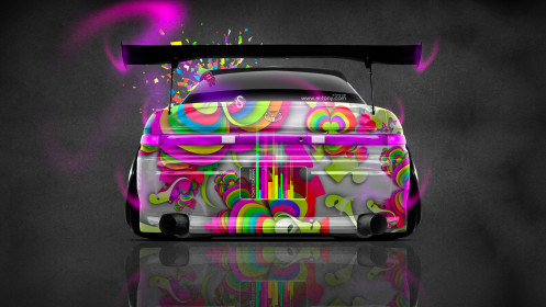 Toyota-Mark2-JZX90-JDM-Back-Domo-Kun-Toy-Car-2014-Photoshop-Multicolors-HD-Wallpapers-design-by-Tony-Kokhan-[www.el-tony.com]