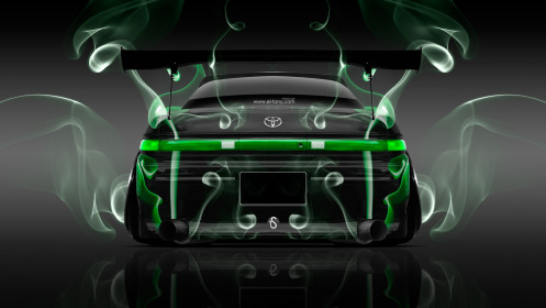 Toyota-Mark2-JZX90-JDM-Back-Green-Smoke-Car-2014-Photoshop-HD-Wallpapers-design-by-Tony-Kokhan-[www.el-tony.com]