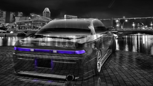 Toyota-Mark2-JZX90-JDM-Crystal-City-Car-2014-Violet-Neon-Back-Side-Up-View-HD-Wallpapers-design-by-Tony-Kokhan-[www.el-tony.com]
