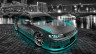 Toyota-Mark2-JZX90-JDM-Side-Up-Crystal-City-Car-2014-Azure-Neon-HD-Wallpapers-design-by-Tony-Kokhan-[www.el-tony.com]