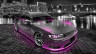 Toyota-Mark2-JZX90-JDM-Side-Up-Crystal-City-Car-2014-Pink-Neon-HD-Wallpapers-design-by-Tony-Kokhan-[www.el-tony.com]