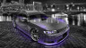 Toyota-Mark2-JZX90-JDM-Side-Up-Crystal-City-Car-2014-Violet-Neon-HD-Wallpapers-design-by-Tony-Kokhan-[www.el-tony.com]