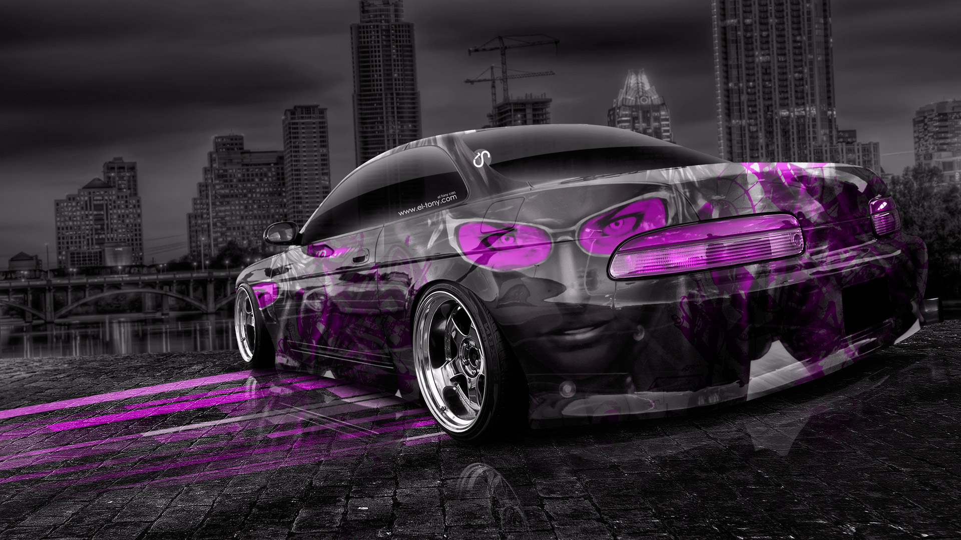 Toyota Soarer Jdm Anime Aerography City Car 2014 El Tony