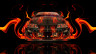 Toyota-Supra-JDM-Front-Fire-Abstract-Car-2014-HD-Wallpapers-design-by-Tony-Kokhan-[www.el-tony.com]