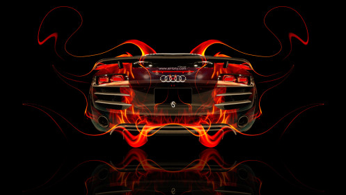 Audi-R8-BackUp-Fire-Abstract-Car-2014-HD-Wallpapers-design-by-Tony-Kokhan-[www.el-tony.com]