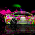 Lovely BMW E46 Side Abstract Aerography Car 2014