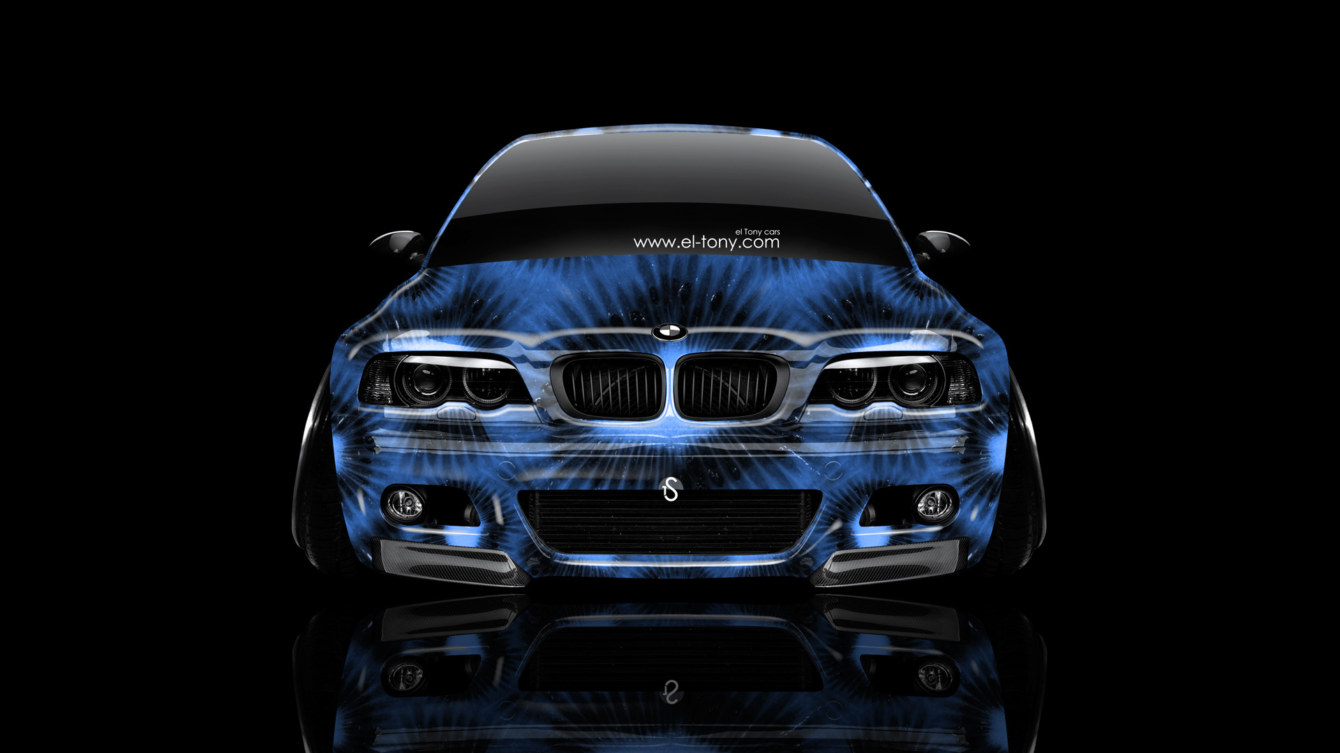 Bmw M3 E46 Front Kiwi Aerography Car 2014 El Tony
