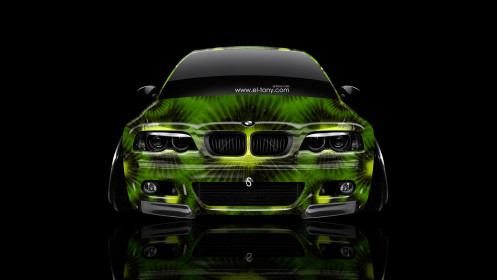 BMW-M3-E46-Front-Kiwi-Aerography-Car-2014-Photoshop-HD-Wallpapers-design-by-Tony-Kokhan-[www.el-tony.com]
