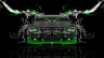 BMW-M6-Front-Water-Car-2014-Green-Neon-HD-Wallpapers-design-by-Tony-Kokhan-[www.el-tony.com]