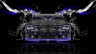 BMW-M6-Front-Water-Car-2014-Violet-Neon-HD-Wallpapers-design-by-Tony-Kokhan-[www.el-tony.com]