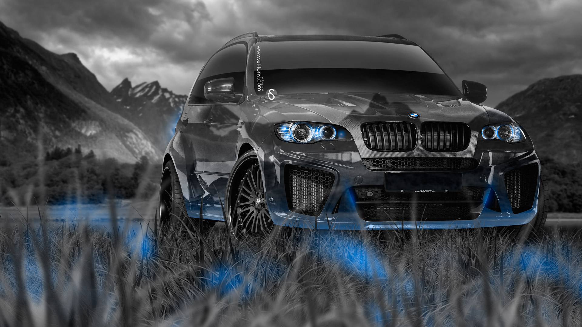 Bmw X5 Tuning Crystal Nature Car 2014 El Tony