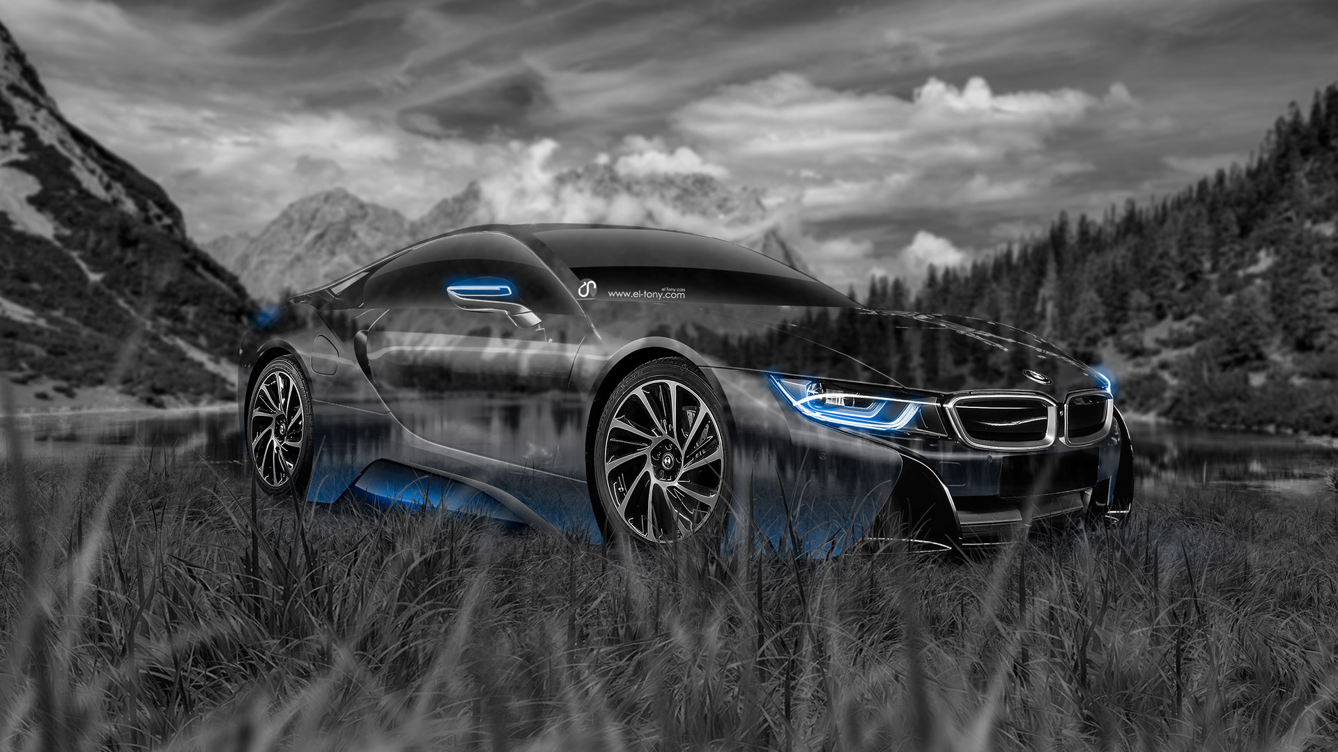 Bmw I8 Crystal Nature Car 2014 El Tony