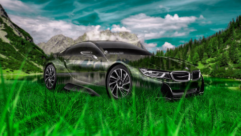 BMW-i8-Crystal-Nature-Car-2014-Green-Grass-HD-Wallpapers-design-by-Tony-Kokhan-[www.el-tony.com]