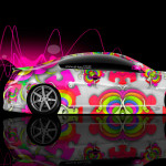 Infiniti G37 Side Abstract Aerography Car 2014