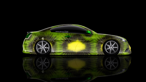 Infiniti-G37-Side-Kiwi-Aerography-Car-2014-Photoshop-HD-Wallpapers-design-by-Tony-Kokhan-[www.el-tony.com]
