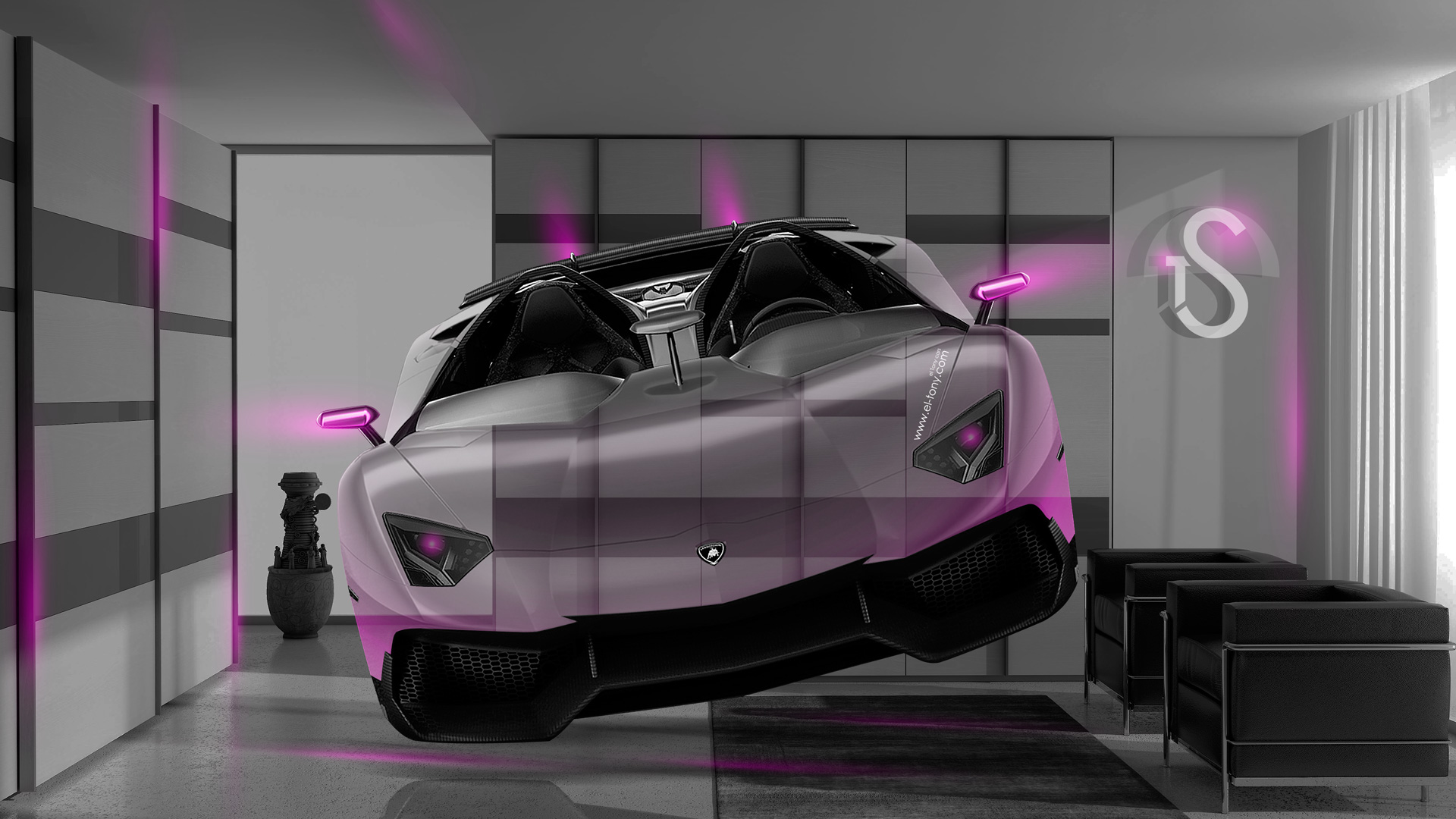 lamborghini aventador j fantasy crystal home fly car