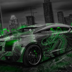 Lamborghini Gallardo Dragon Aerography City Car 2014
