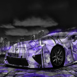 Lexus LFA Anime Girl Aerography City Car 2014