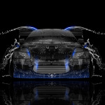 Mitsubishi Lancer Evolution JDM Front Water Car 2014