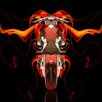 Moto Fantasy Fire Bike 2014