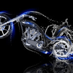 Moto Chopper Side Water Bike 2014