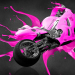 Suzuki Hayabusa Live Colors Bike 2014