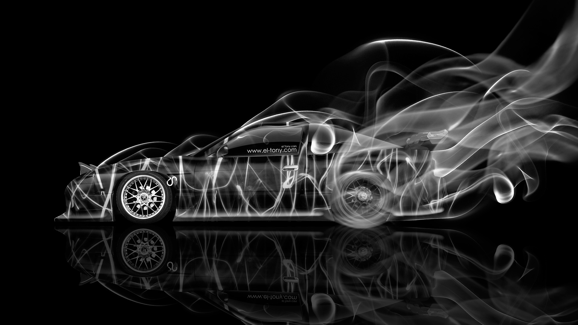 Nissan Sx Jdm Side Drift Smoke Car Photoshop Hd Wallpapers Design By Tony Kokhan Www El Tony Com