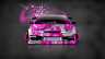 Nissan-Silvia-S14-JDM-Front-Domo-Kun-Toy-Car-2014-Art-Pink-Colors-HD-Wallpapers-design-by-Tony-Kokhan-[www.el-tony.com]