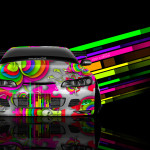 Nissan Silvia S15 JDM Front Abstract Aerography Car 2014