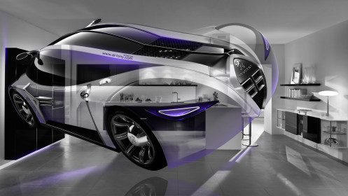 Peugeot-4002-Fantasy-Crystal-Home-Fly-Car-2014-Violet-Neon-HD-Wallpapers-design-by-Tony-Kokhan-[www.el-tony.com]