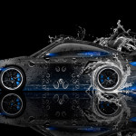 Porsche 911 GT2 Side Water Car 2014