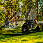 Shelby SSC Ultimate Aero Crystal Nature Car 2014