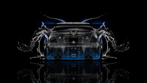 Toyota-Altezza-JDM-Back-Water-Car-2014-Blue-Neon-HD-Wallpapers-design-by-Tony-Kokhan-[www.el-tony.com]