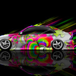 Toyota Altezza JDM Side Abstract Aerography Car 2014