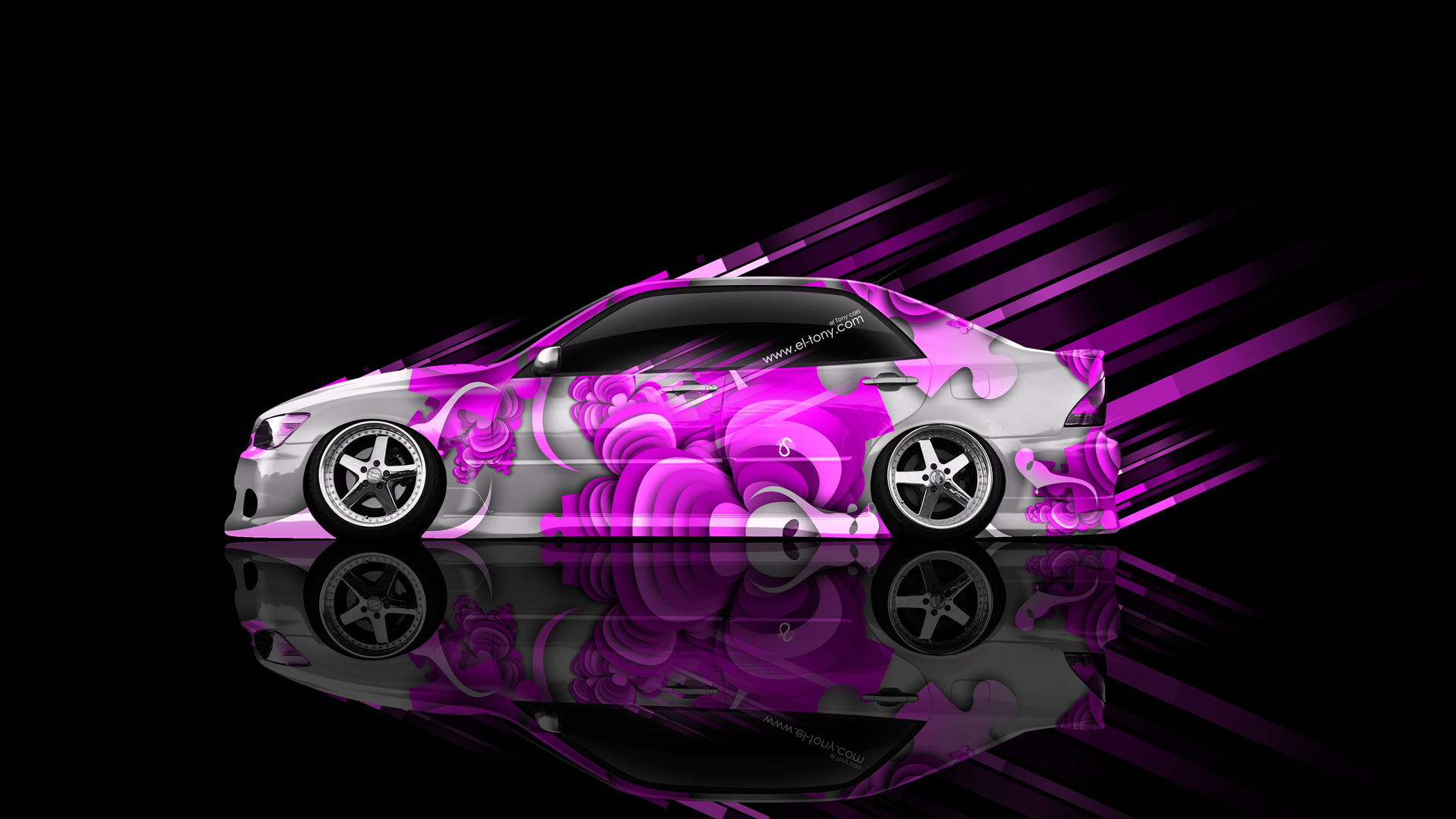Superb Toyota Altezza JDM Side Abstract Aerography Car 2014 .