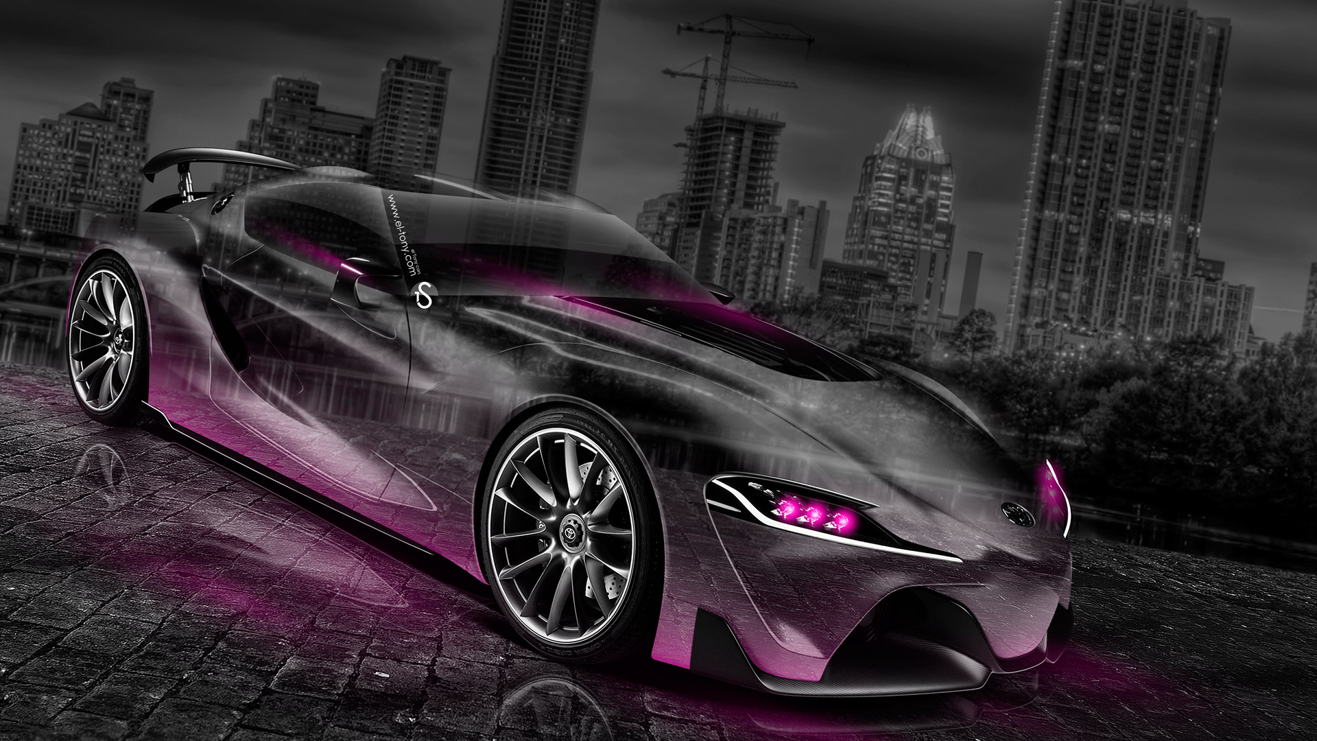 Toyota FT 1 Crystal City Car 2014 Pink