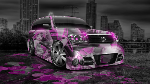 Toyota-Land-Cruiser-Tuning-JDM-Anime-Aerography-City-Car-2014-Pink-Colors-HD-Wallpapers-design-by-Tony-Kokhan-[www.el-tony.com]