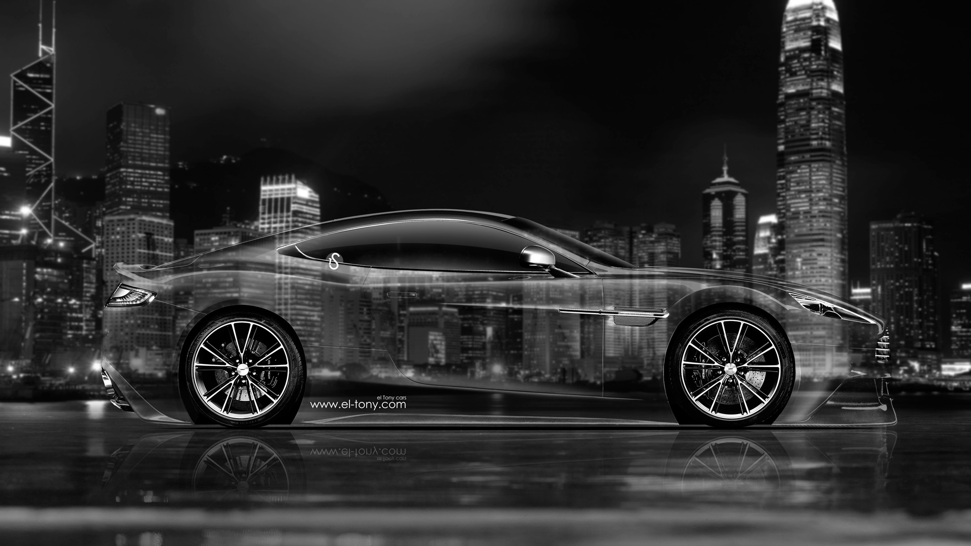 Attrayant ... Aston Martin Vanquish Side Crystal City Car 2014  ...