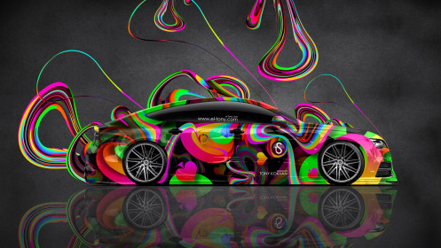 Audi-S7-Side-Super-Abstract-Plastic-Aerography-Car-2014-Multicolors-HD-Wallpapers-design-by-Tony-Kokhan-[www.el-tony.com]