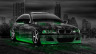 BMW-M3-Crystal-City-Car-2014-Green-Neon-HD-Wallpapers-design-by-Tony-Kokhan-[www.el-tony.com]