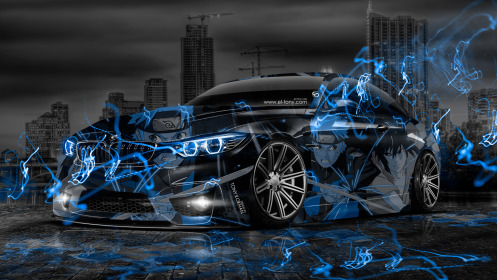 BMW-M4-Anime-Aerography-Naruto-City-Car-2014-Art-Blue-Effects-HD-Wallpapers-design-by-Tony-Kokhan-[www.el-tony.com]