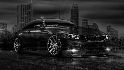 BMW-M4-Crystal-City-Car-2014-Photoshop-HD-Wallpapers-design-by-Tony-Kokhan-[www.el-tony.com]